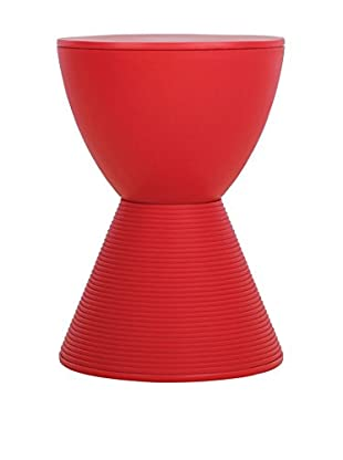 Lo+deModa Taburete Diabolo Color Edition Rojo