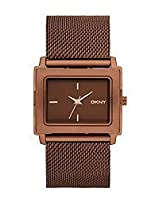 DKNY End-of-Season Analog Brown Dial Women Watch - NY8559