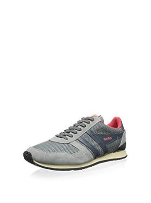Gola Men's Spirit Woven Sneaker (Grey/Grey)