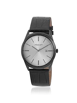 Johan Eric Men's JE8000-13-001 Viborg Black/Silver Leather Watch