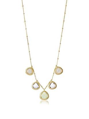 Coralia Leets 5 Teardrop Stone Necklace