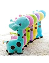 CHOW 1Pc Lovely Giraffe Dear Baby Kid Birthday Party Gift Animal Dolls Soft Plush Toy (18cm)