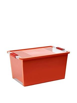 Kis Set Caja de Almacenamiento 5 Uds. Bi Box Naranja/Transparente