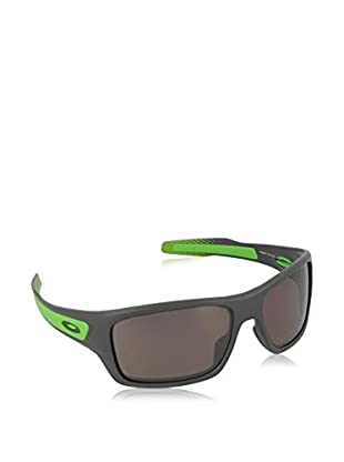 Oakley Gafas de Sol Polarized Turbine (65 mm) Gris