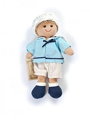 My Doll Stoffpuppe Matrose (honig/weiß/hellblau)