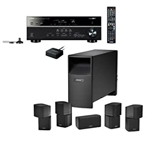 Bose Acoustimass 10 Home Theater Bundle and Bluetooth Music Package