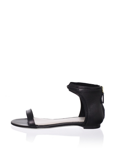JASON WU Women's Izabel Flat Sandal (Black)
