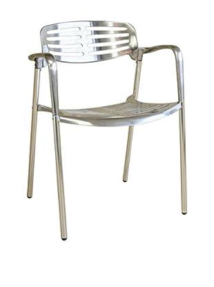 Baxton Studio Cameo Aluminum Chair, Aluminum