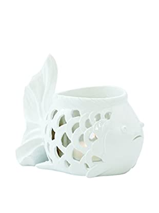 Torre & Tagus Fish Cut-Out Candle Holder
