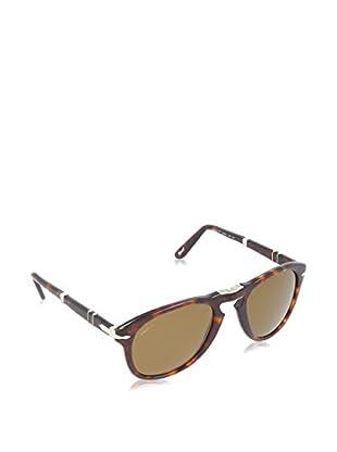 PERSOL Sonnenbrille Polarized PO 714 24/57 52 (52 mm) havanna