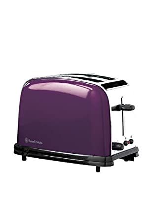 Russell Hobbs Tostador de Acero Inoxidable Púrpura