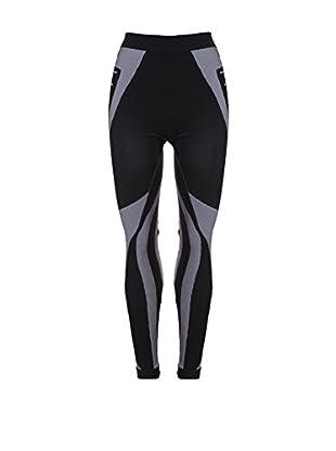 Hyra Pantalón Interior Esquí Junior Negro / Gris 10-12 años (140/152 cm)