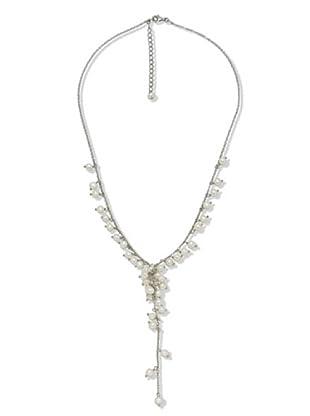 Valero Pearls 60200146 - Collar de mujer de plata con perla cultivada de agua dulce, 48 cm