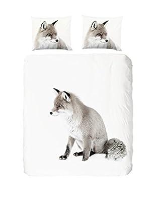 Good Morning Bettdecke und Kissenbezug Fox