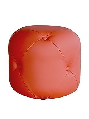 TUONI Pouf Cubix rot