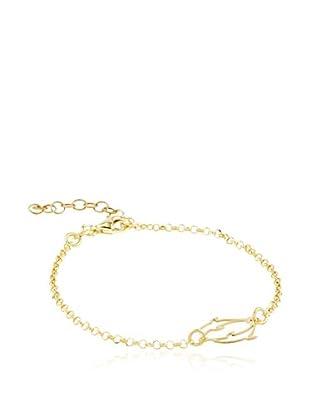 ALBA CAPRI Braccialetto Ermine argento 925 bagnato oro