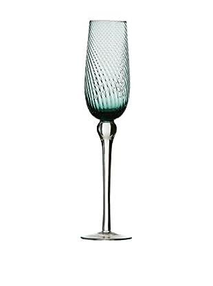 Premier Housewares Sektglas 4er Set blau