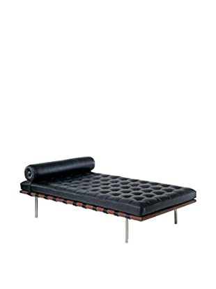 Lo+deModa Chaiselongue Day Bed schwarz