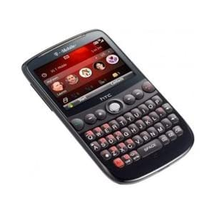 HTC Dash smartphone Mobile Phone with QWERTY keyboard, landscape display, and Wi-Fi