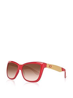 Guess Sonnenbrille GU7371 57P07 (57 mm) dunkelrot