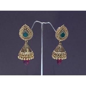 Earrings - antique jhumka