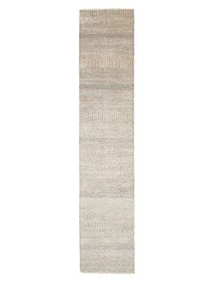 Darya Rugs Modern Oriental Rug, Grey, 2' 6