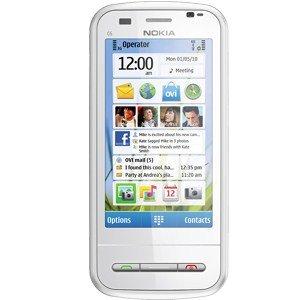 Nokia C6-00 (White)