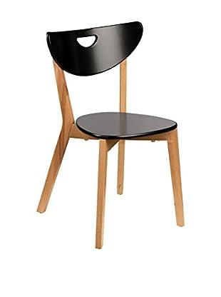 Premier Houseware  Stuhl 2er Set 2403898 schwarz