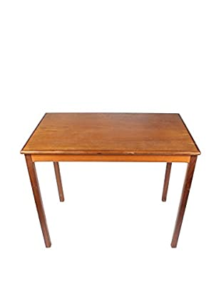 Scandinavian Teak End Table, Brown