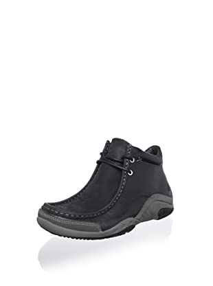 Hush Puppies Men's Relevance Chukka Boot (Black)