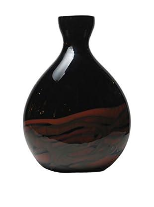 Mila Brown Eclipse Vase