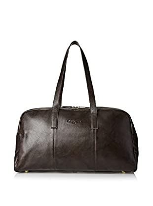 Christian Lacroix Signature Oiled Duffle Bag, Brown