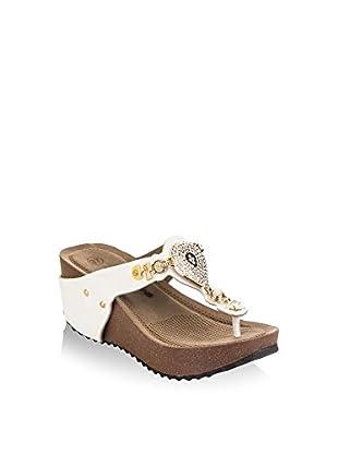 Pembe Potin Keil Sandalette