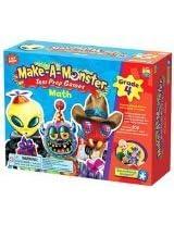 Make-A-Monster Math Test Prep Games - Grade 4