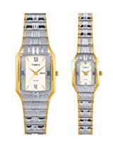 TimexÃ' Analog Couple's Watch -Ã' PR13, silver, multicolor