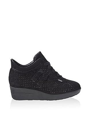 Ruco Line Sneaker Zeppa 200 Rock Suede
