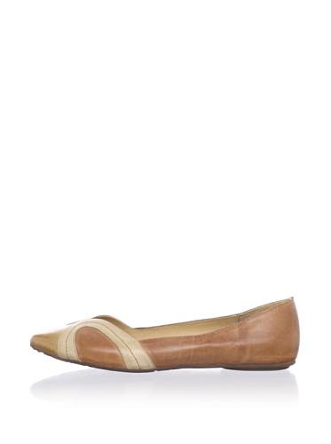 Chocolat Blu Women's Goldie Flat (Brown)