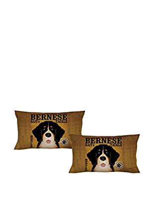 LITTLE FRIENDS by MANIFATTURE COTONIERE Kopfkissenbezug 2er Set Bernese