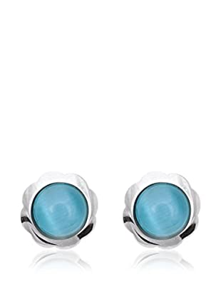 RHAPSODY Pendientes Candy oro blanco 18 ct