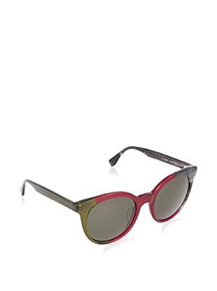 Fendi Sonnenbrille Mod. 0064/S 70_MXX (51 mm) oliv/bordeaux