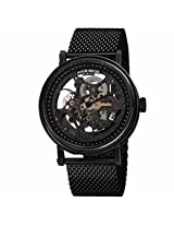 Akribos Xxiv Black Ip Stainless Steel Mens Watch Ak732Bk