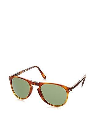 PERSOL Sonnenbrille 0PO9714S 52 96/4E (52 mm) braun
