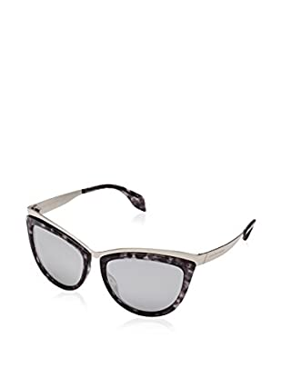 Alexander McQueen Gafas de Sol AMQ4251/S (57 mm) Metal / Negro