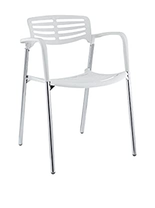 Modway Fleet Stacking Chair (White)