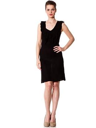 Naf Naf Vestido (negro)