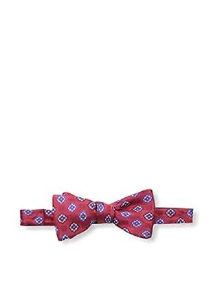 Bruno Piattelli Men's Medallion Bow Tie, Red