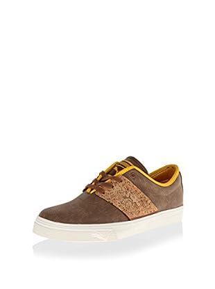 PUMA Men's EL Ace Classic Sneaker (Dachshund/Spectra Yellow)