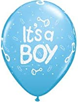 Funcart Its a Boy Latex Balloons (5 pcs/pack)