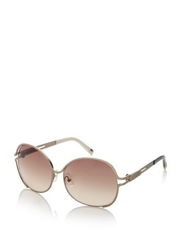 Karl Lagerfeld Women's 129S Sunglasses (Satin Gold)