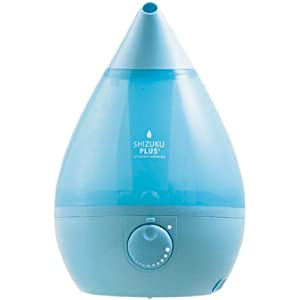 Ultrasonic humidifier aroma Apice Apikkusu SHIZUKU PLUS +] [Aqua Blue AHD-012-BL